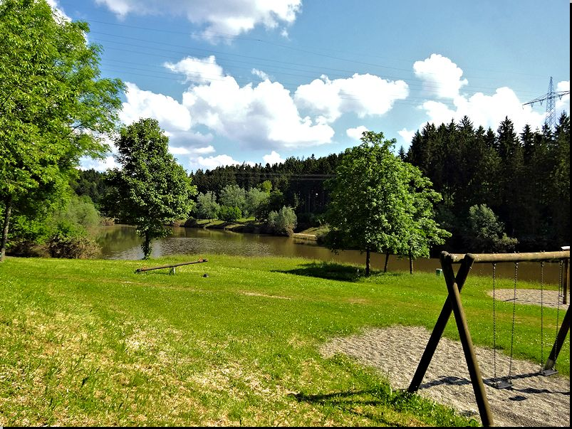 am Leinecksee